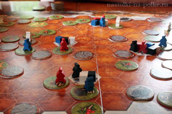 Настольная игра Охотники и собиратели
