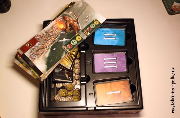 Коробка игры 7 чудес с органайзером