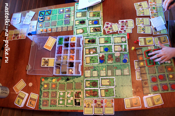 Настольная игра Агрикола