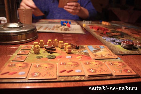 Настольная игра Каменный век