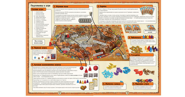 Правила настольной игры Брюгге на русском