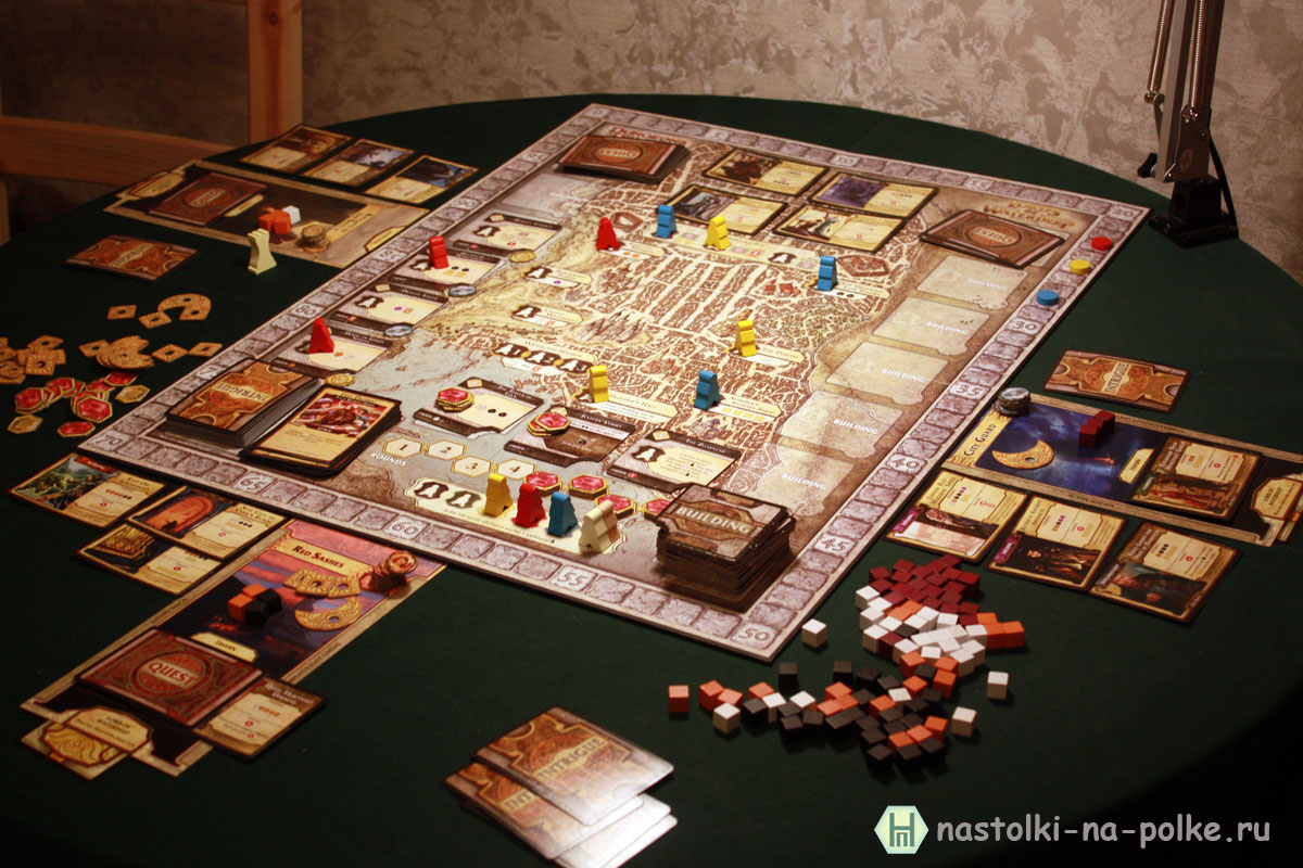 Lords of Waterdeep (Лорды Уотердипа)