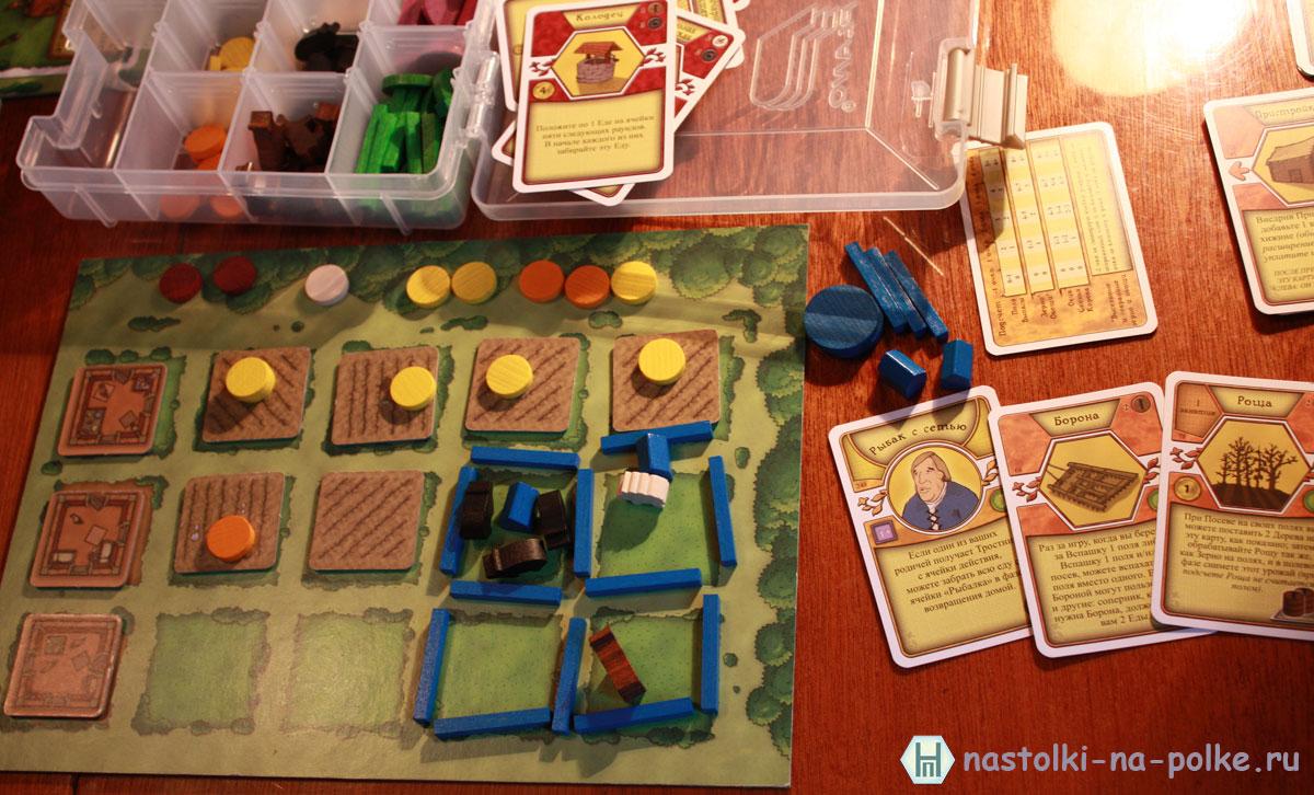 Настольная игра Агрикола Agricola