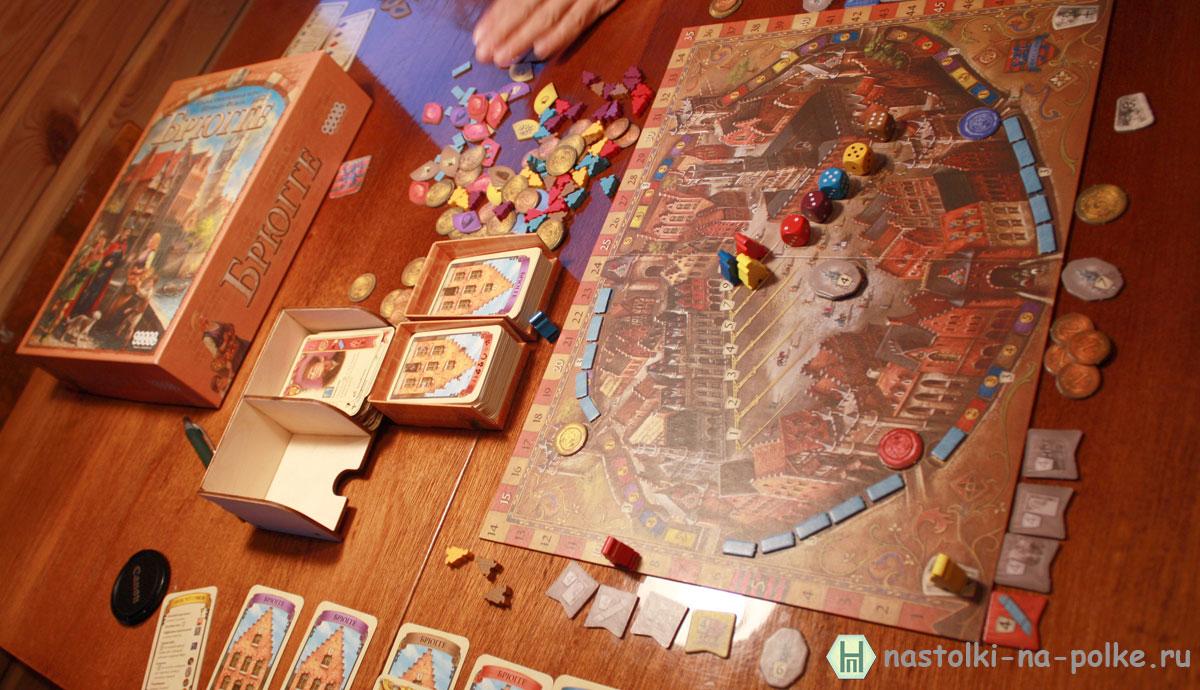 Настольная игра Bruges Брюгге