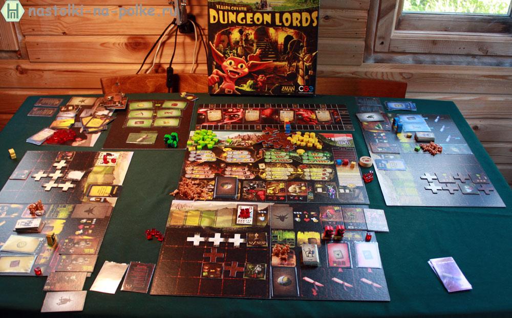 Dungeon Lords Лорды подземелий