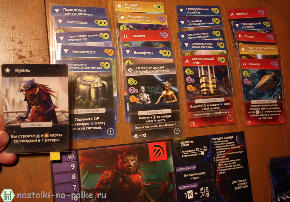 Master of Orion: Настольная игра Master of Orion: The Board Game