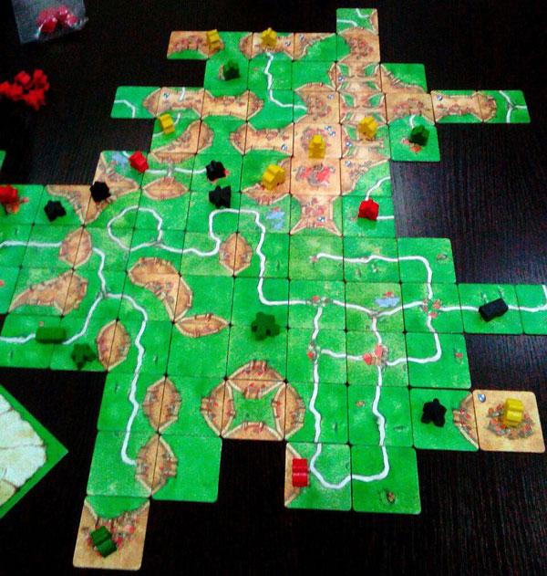 Настольная игра Каркассон Carcassonne