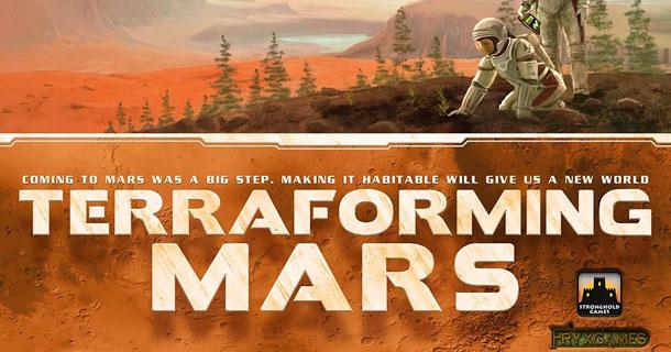 Terraforming Mars Покорение Марса
