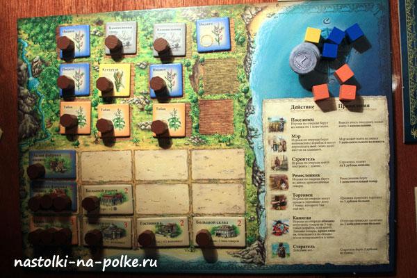 Настольная игра Пуэрто-Рико