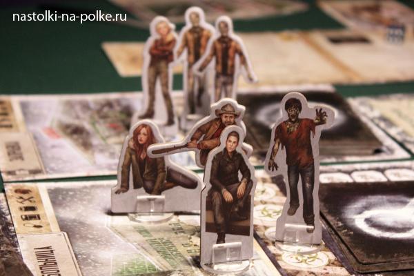 Настольная игра Мёртвый сезон. Перекрестки Dead of Winter: A Crossroads Game