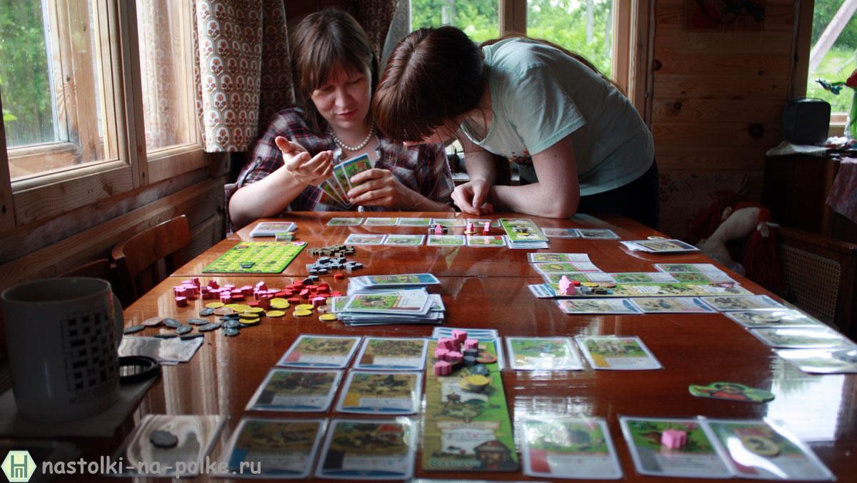 Настольная игра Поселенцы Imperial Settlers