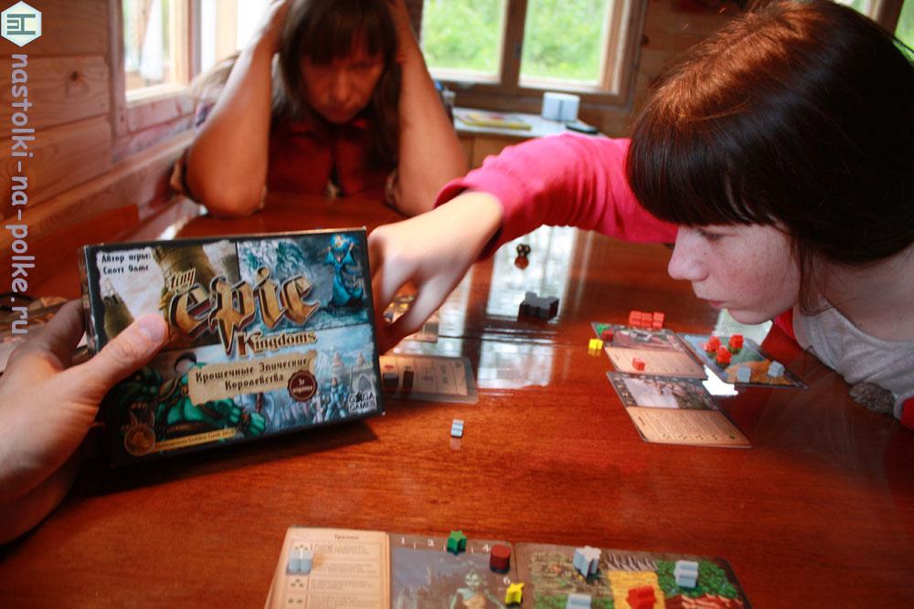 Крошечные Эпические Королевства Tiny Epic Kingdoms