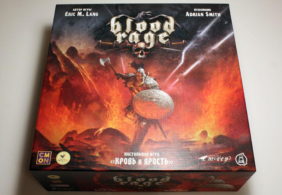 Настольная игра Blood Rage Кровь и ярость
